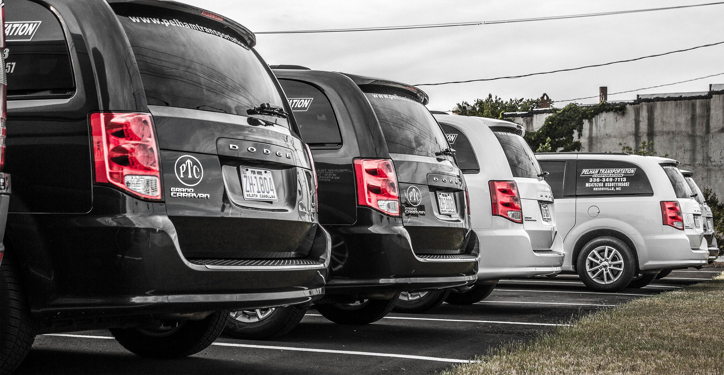 Mini Van Fleet Rear